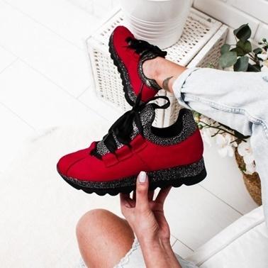 Limoya Ayakkabı Kırmızı